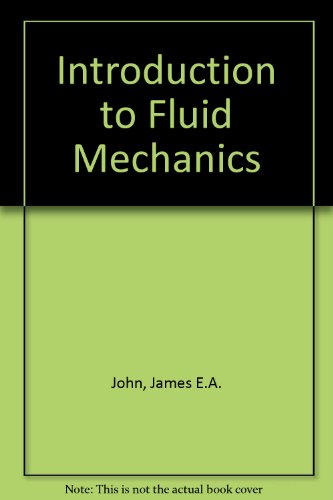 9780134839837: Introduction to Fluid Mechanics