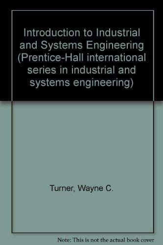 9780134845692: Introduction to Industrial and Systems Engineering (Prentice-Hall international series in industrial and systems engineering)