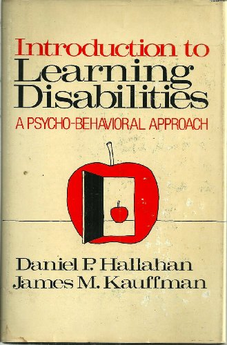 9780134855240: Introduction to Learning Disabilities (Prentice-Hall special education series)