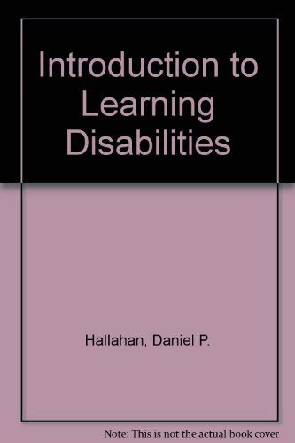 9780134855417: Introduction to Learning Disabilities