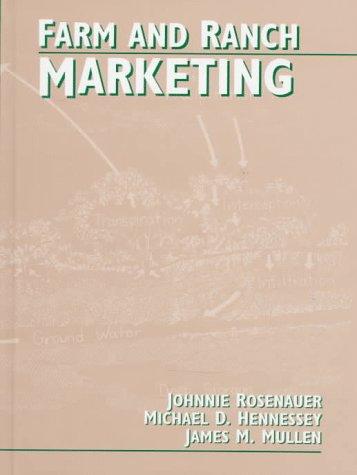 9780134855905: Farm and Ranch Marketing