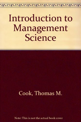 9780134857077: Introduction to Management Science