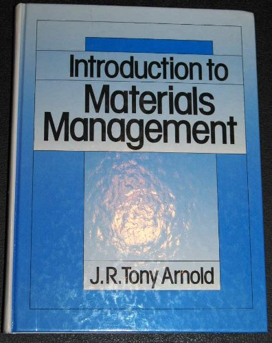 9780134859545: Introduction to Materials Management