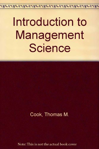 9780134860688: Introduction to Management Science