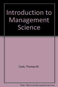 9780134860923: Introduction to Management Science