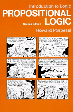 9780134861678: Introduction to Logic: Propositional Logic (v. 1)