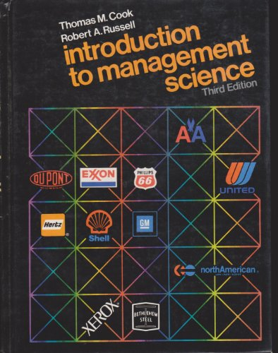 9780134870267: Introduction to Management Science