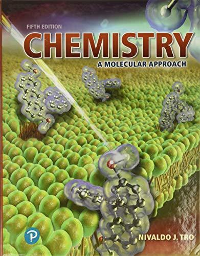 9780134874371: Chemistry: A Molecular Approach