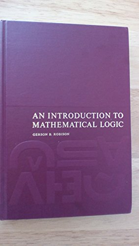 9780134874623: Introduction to Mathematical Logic