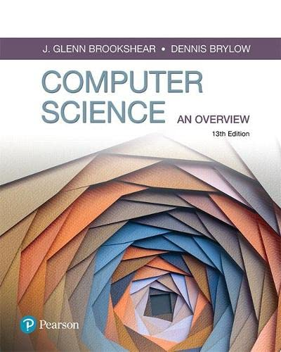 9780134875460: Computer Science: An Overview (13th Edition) (What's New in Computer Science)