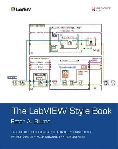 9780134878423: LabVIEW Style Book, The (Paperback)