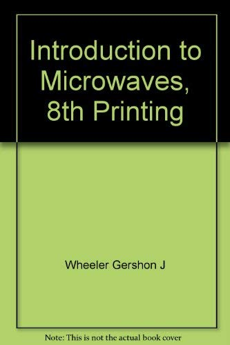 9780134878430: Introduction to Microwaves