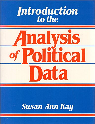 9780134885940: Introduction to the Analysis of Political Data
