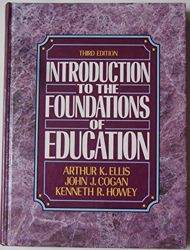 9780134886022: Introduction to the Foundations of Education