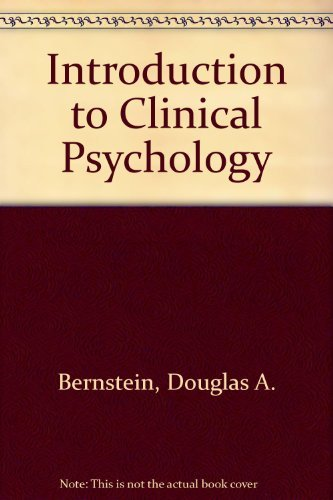9780134886855: Introduction to Clinical Psychology