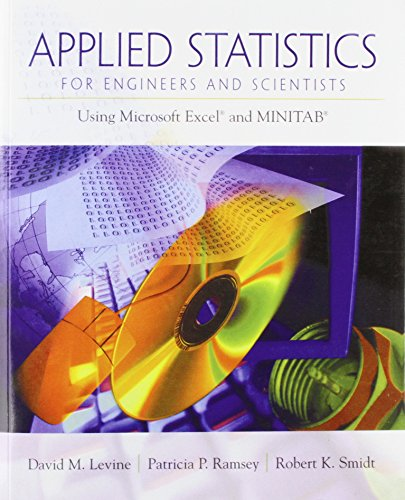 9780134888019: Applied Statistics for Engineers and Scientists: Using Microsoft Excel & Minitab