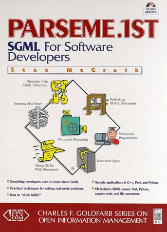 9780134889672: PARSEME.1st: SGML for Software Developers