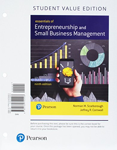 Entrepreneurship and Small Business Management, Student Value: Norman M. Scarborough
