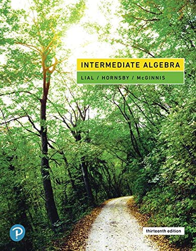 9780134896403: Intermediate Algebra, Loose-Leaf Edition (13th Edition)