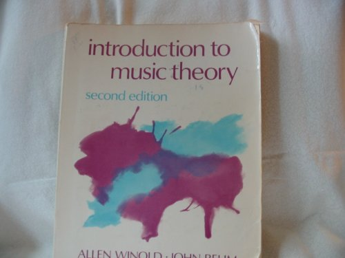 9780134896663: Introduction to Music Theory