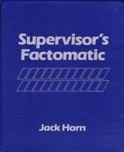 9780134897745: Supervisor's Factomatic