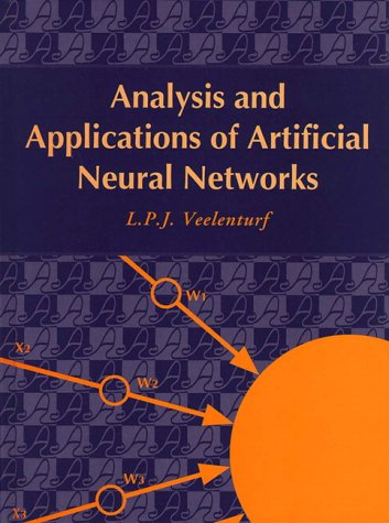 9780134898322: Analysis and Applications of Artificial Neural Networks