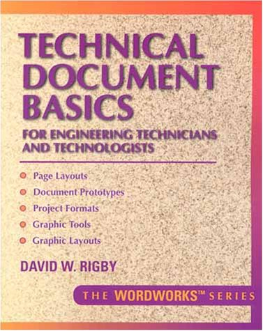 9780134901374: Technical Document Basics for Engineering Technicians and Technologists