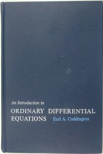 9780134913162: An Introduction to Ordinary Differential Equations