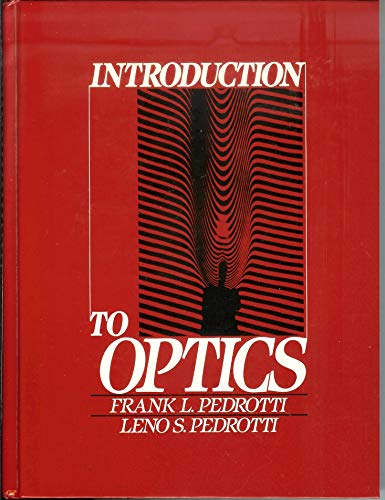 9780134914657: Introduction to Optics