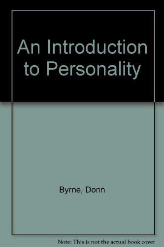 9780134916057: Introduction to Personality