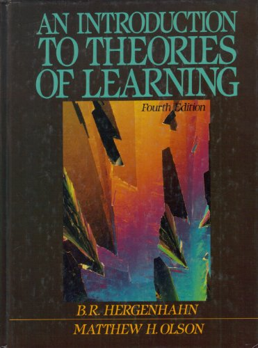 9780134916484: An Introduction to Theories of Learning