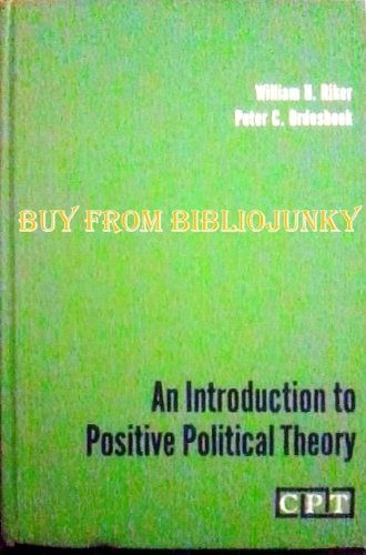 9780134930640: Introduction to Positive Political Theory (Prentice-Hall contemporary political theory series)