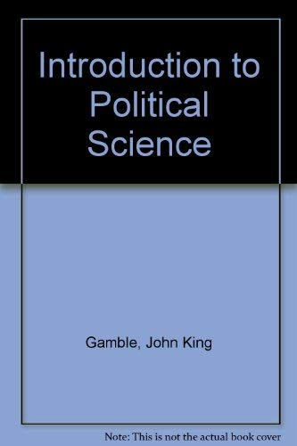 9780134932309: Introduction to Political Science