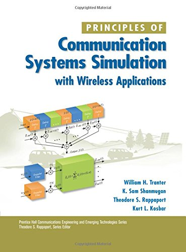 9780134947907: Principles of Communication Systems Simulation with Wireless Applications