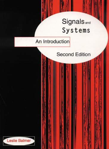 9780134956725: Signals and Systems: An Introduction (2nd Edition)