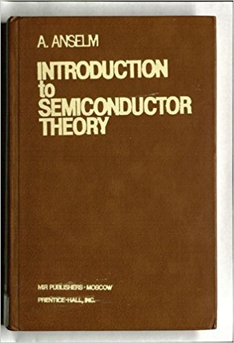 9780134960340: Introduction to Semiconductor Theory