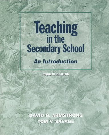 9780134964980: Teaching in the Secondary School: An Introduction