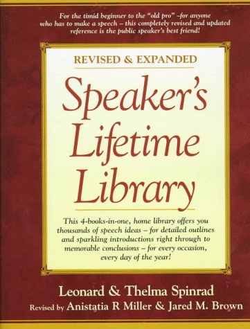 9780134965307: Speaker's Lifetime Library