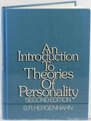 9780134987828: An Introduction to Theories of Personality