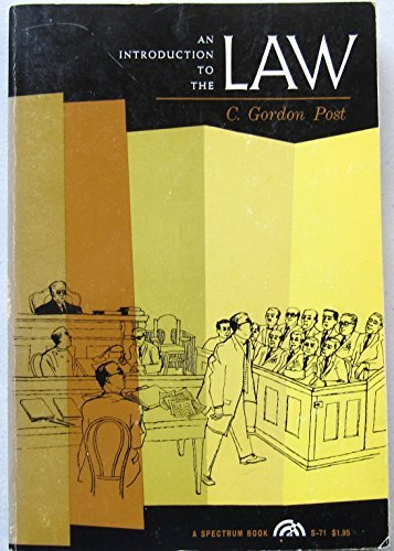 9780134997803: Introduction to the Law (Spectrum Books)
