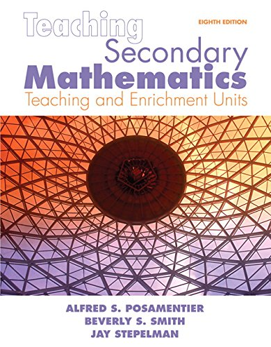 9780135000038: Teaching Secondary Mathematics: Techniques and Enrichment Units