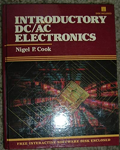9780135000267: Introduction to Direct Current/Alternating Current Electronics