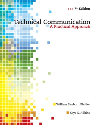 9780135000502: Technical Communication: A Practical Approach (7th Edition)