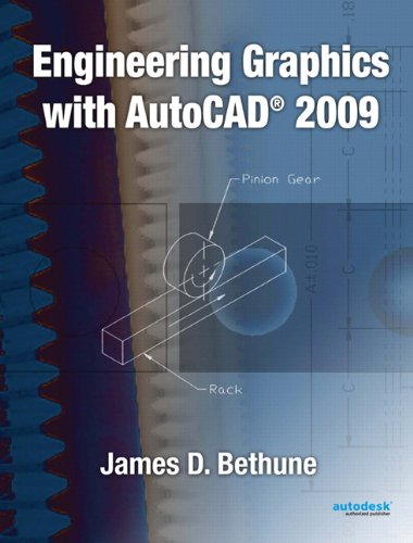 9780135000892: Engineering Graphics with AutoCAD 2009