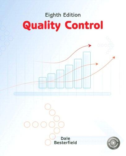 9780135000953: Quality Control (8th Edition)