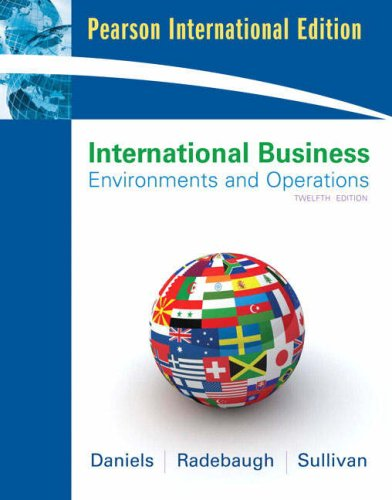 9780135001127: International Business (12th Edition)
