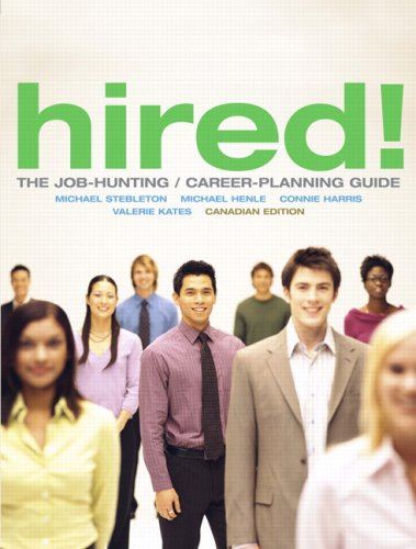 9780135001349: Hired! The Job-Hunting/Career-Planning Guide, Canadian Edition