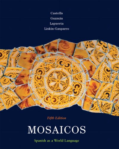 9780135001530: Mosaicos: Spanish as a World Language, 5th Edition