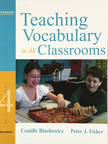 9780135001899: Teaching Vocabulary in All Classrooms (4th Edition)