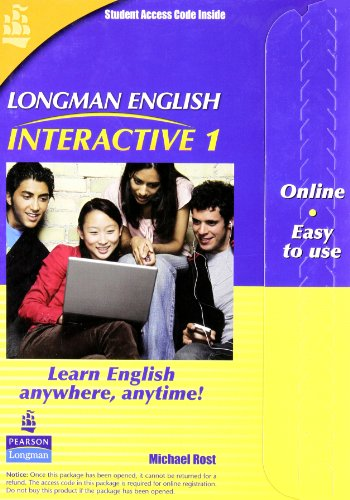 9780135005071: Longman English Interactive 1, Online Version, American English (Access Code Card)